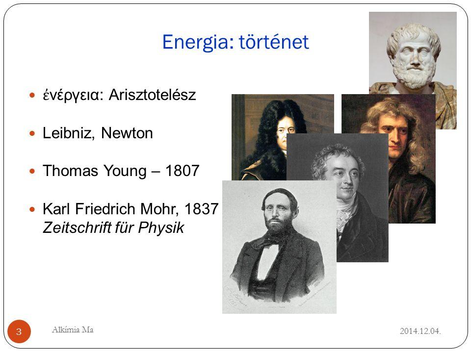 Energia: történet 2014.12.04.