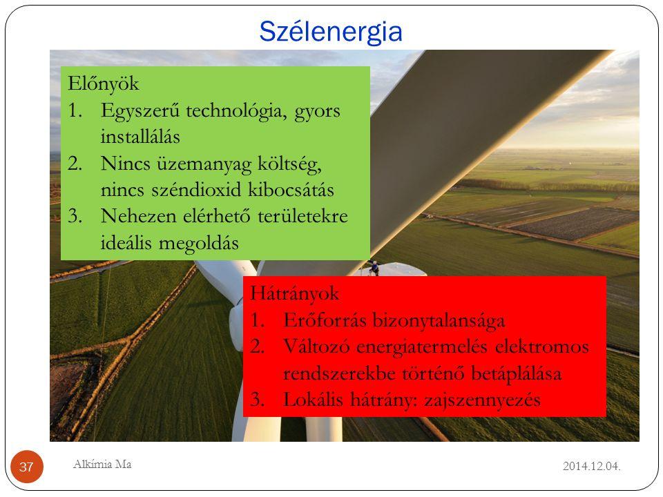 Szélenergia 2014.12.04.