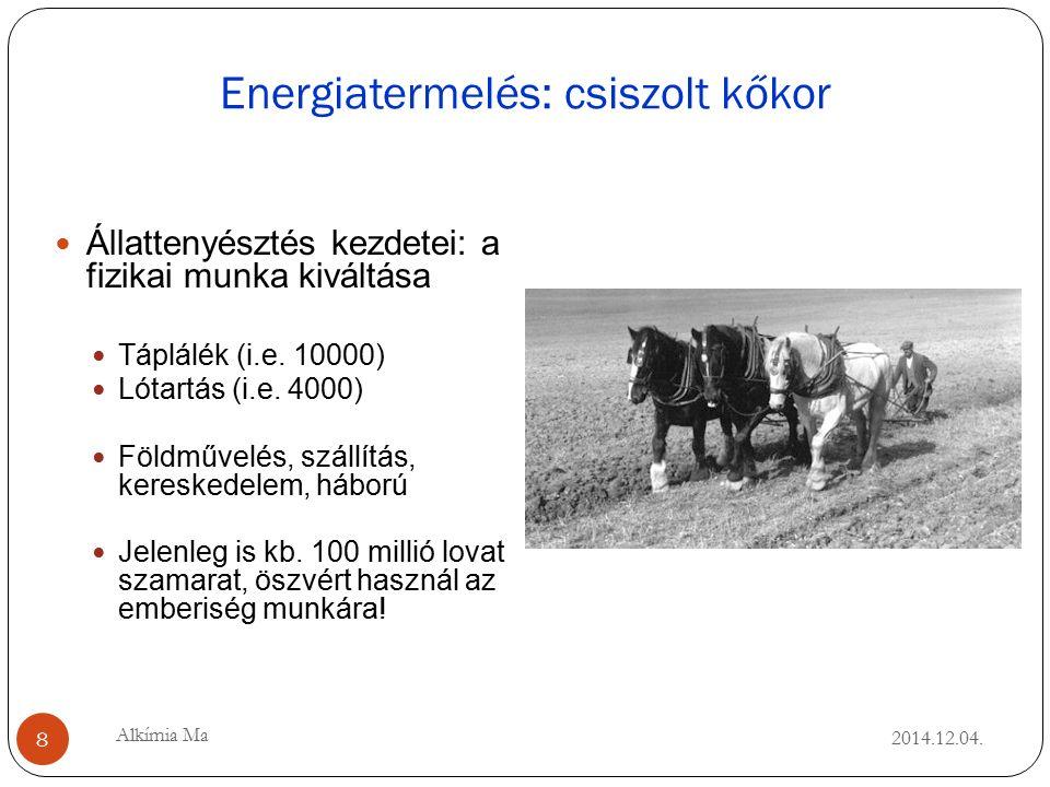 Energiatermelés: csiszolt kőkor 2014.12.04.