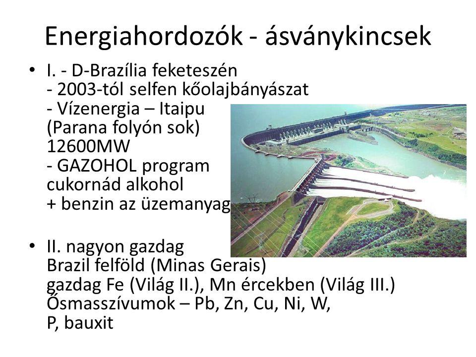Energiahordozók - ásványkincsek I.