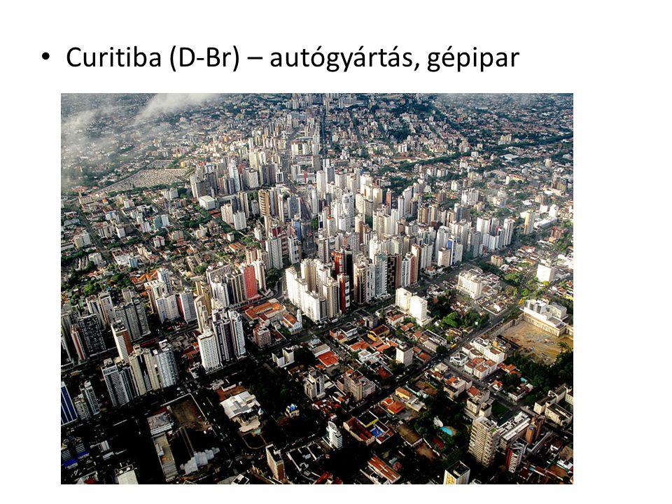 Curitiba (D-Br) – autógyártás, gépipar