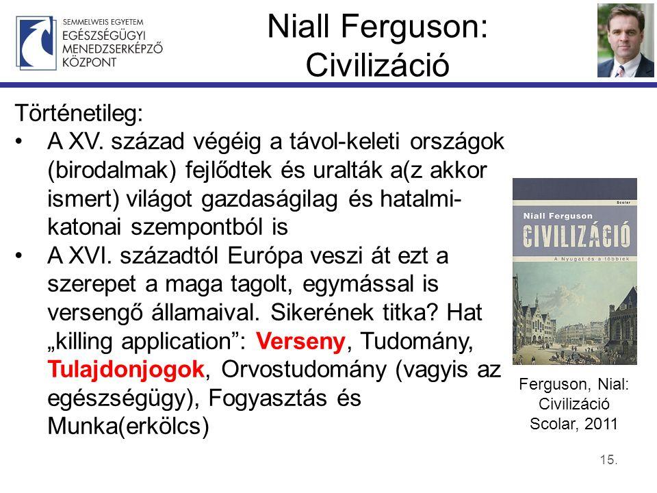 Niall Ferguson: Civilizáció 15. Történetileg: A XV.