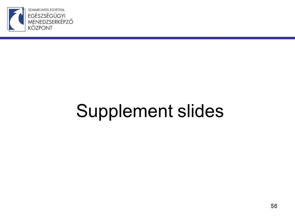 Supplement slides 56