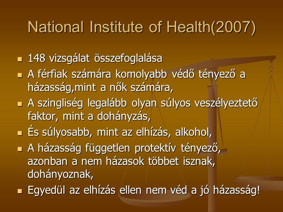 Mit bizonyítanak az epidemiológia vizsgálatok. A teljes finn népesség vizsgálata 1996-2000-ig.
