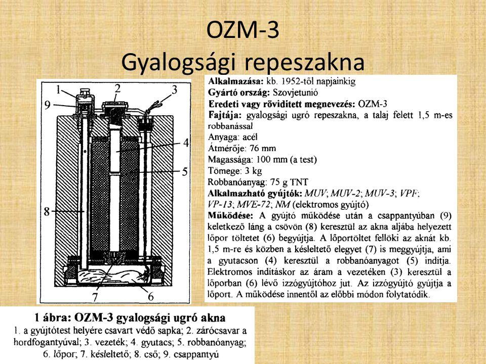 POMZ-2, POMZ-2M Gyalogsági repeszaknák