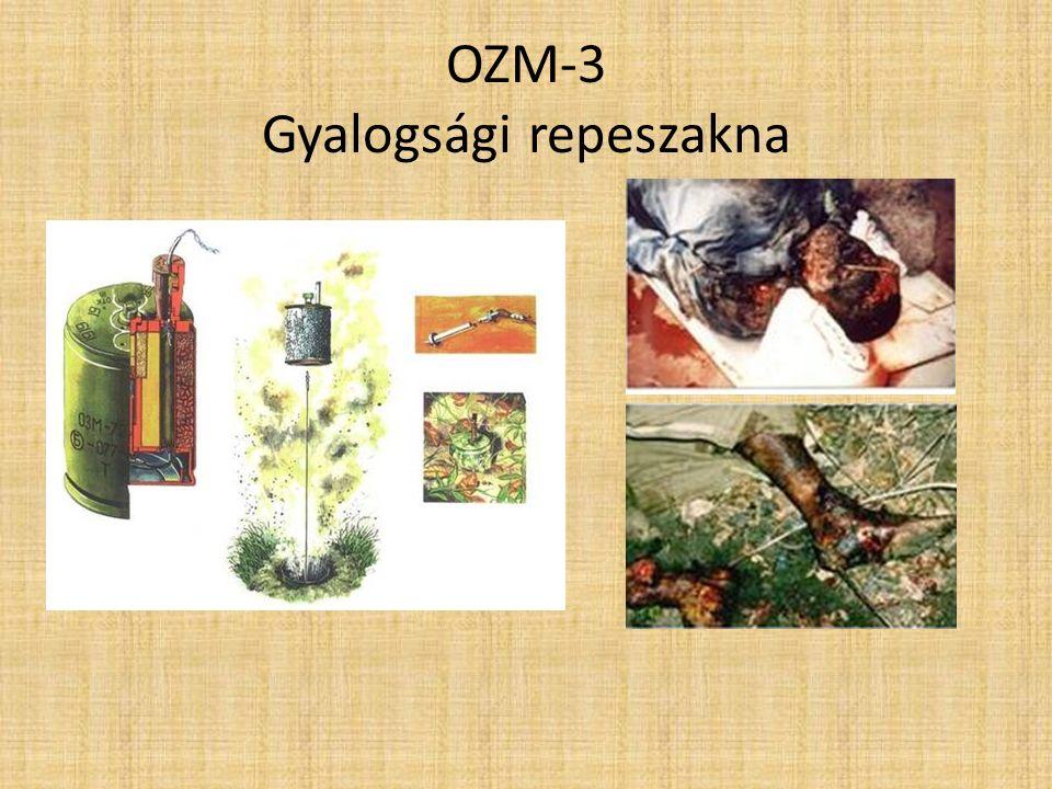 OZM-3 Gyalogsági repeszakna