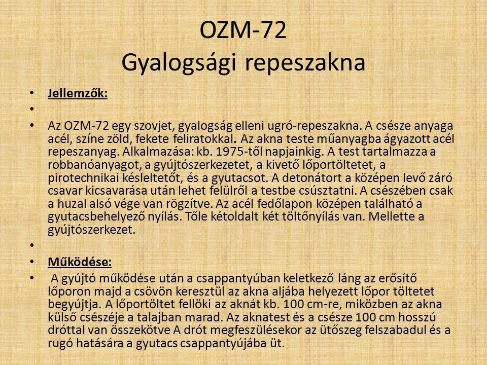 OZM-72 Gyalogsági repeszakna