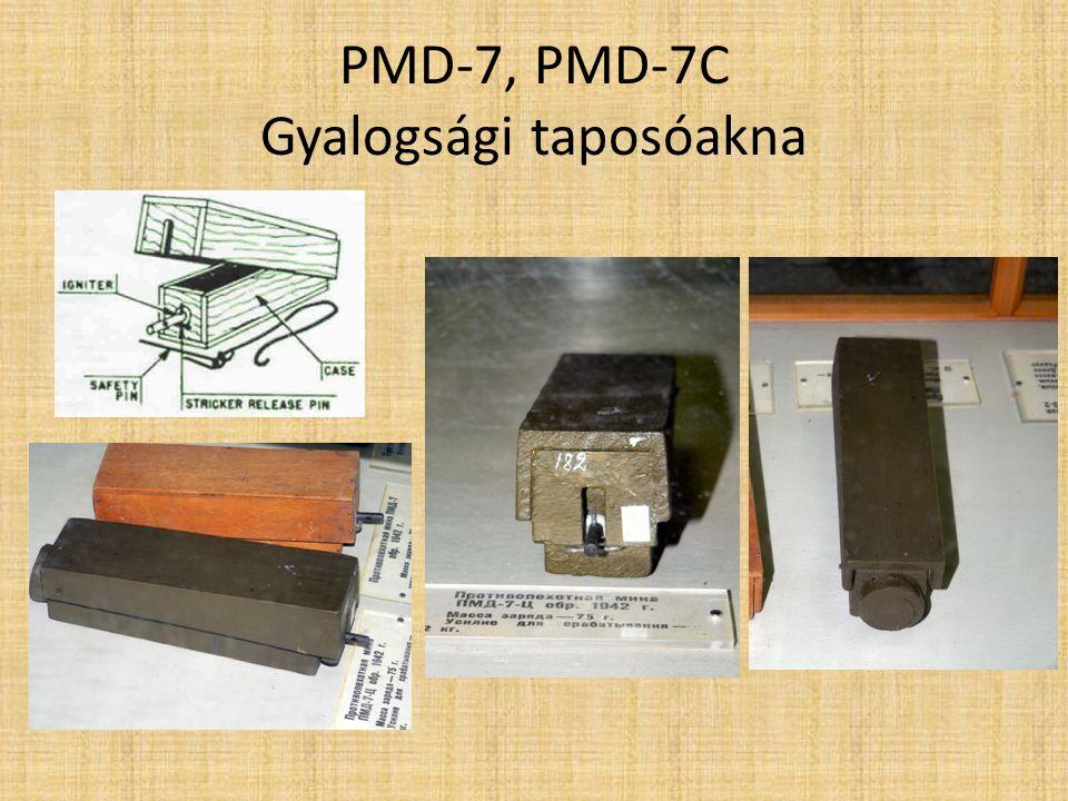 PMD-7, PMD-7C Gyalogsági taposóakna