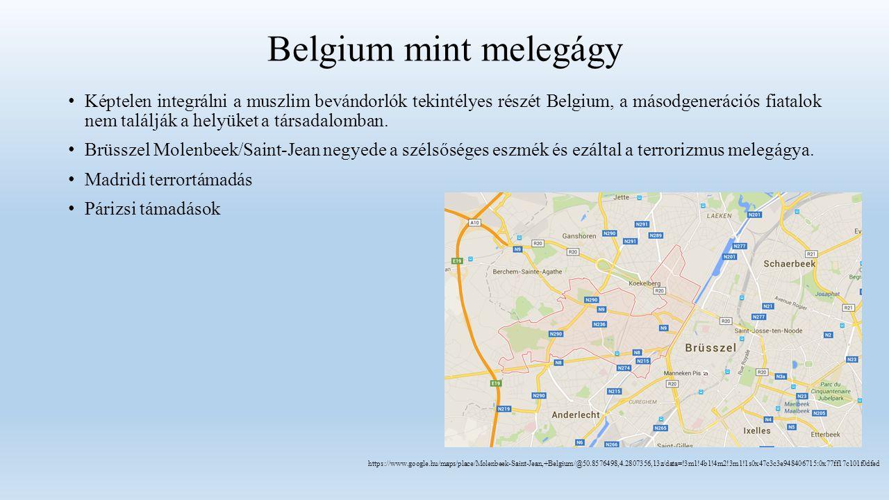 Belgium mint melegágy Képtelen integrálni a muszlim bevándorlók tekintélyes részét Belgium, a másodgenerációs fiatalok nem találják a helyüket a társadalomban.