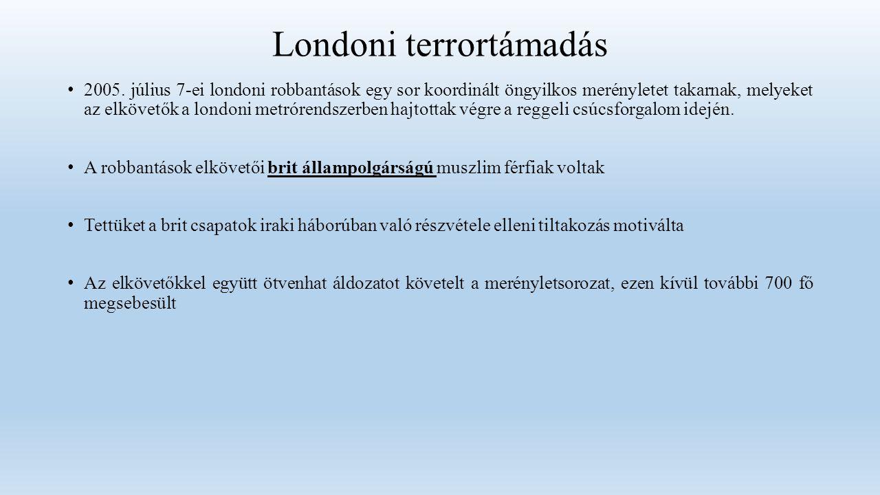 Londoni terrortámadás 2005.