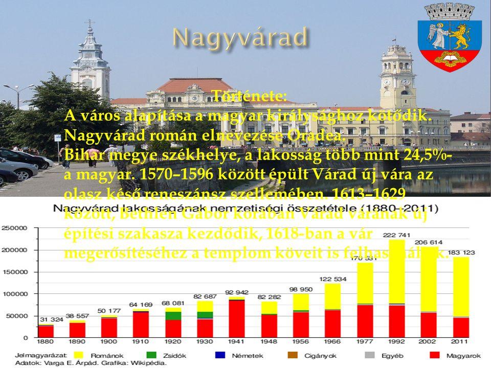 Története: A város alapítása a magyar királysághoz kötődik.