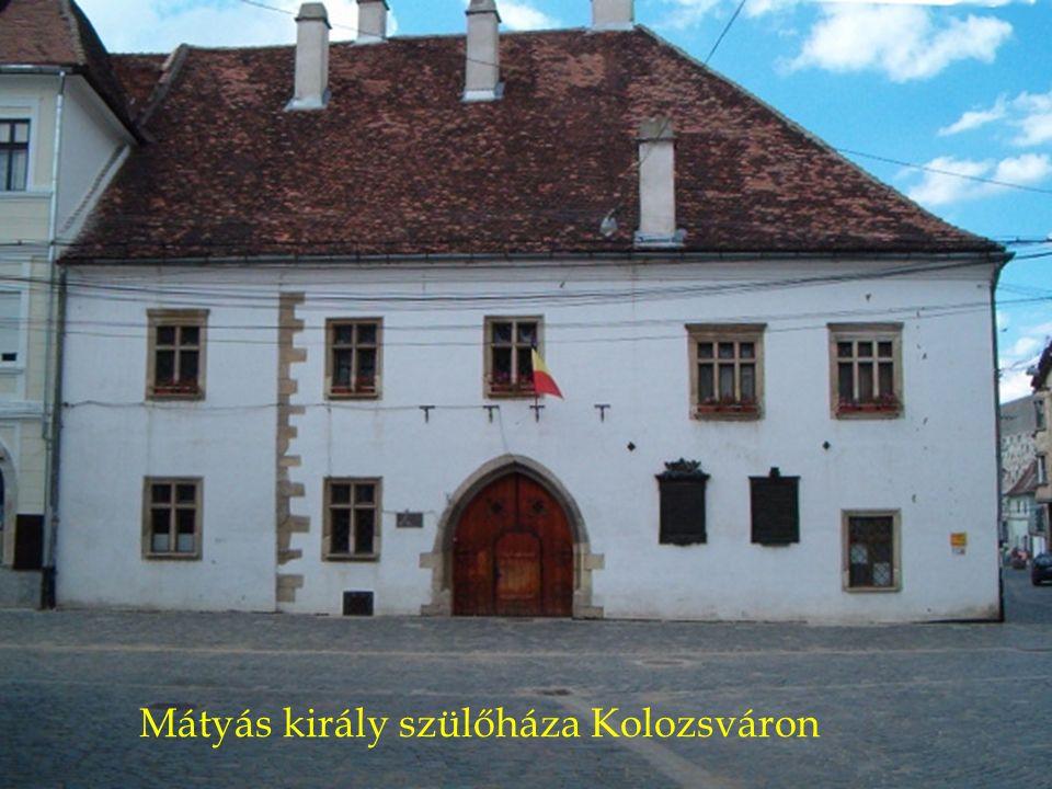Mátyás király szülőháza Kolozsváron
