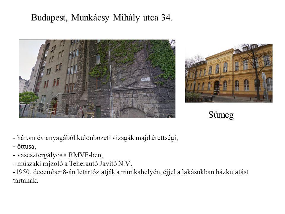 Budapest, Munkácsy Mihály utca 34.