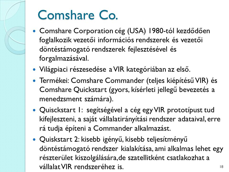 Comshare Co.