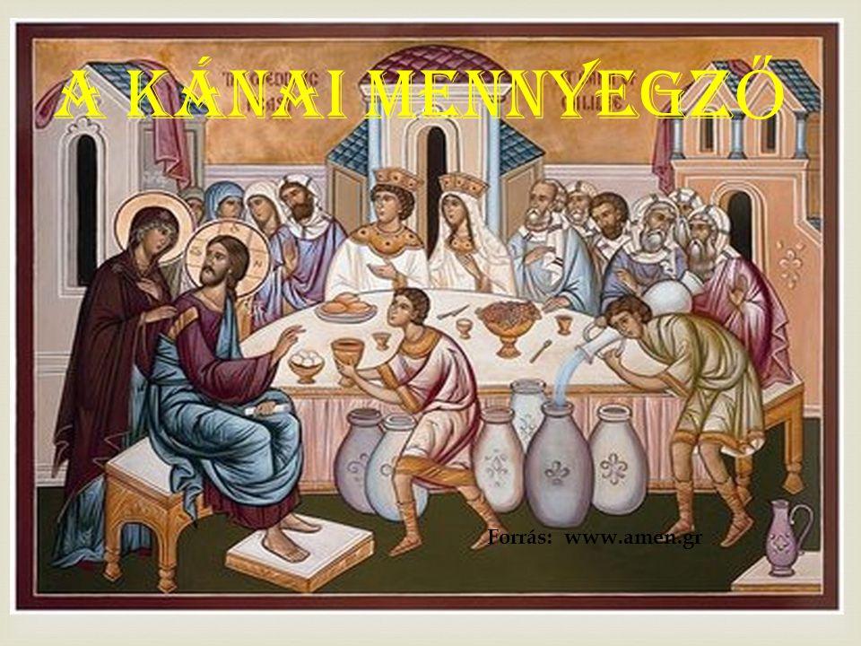 KRISZTUS KÉPES ARRA, HOGY ÁTFORMÁLJON BENNÜNKET, MINT AHOGY A VIZET BORRÁ VÁLTOZTATTA.