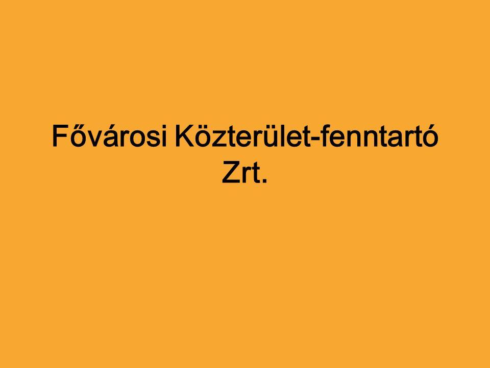 Fővárosi Közterület-fenntartó Zrt.
