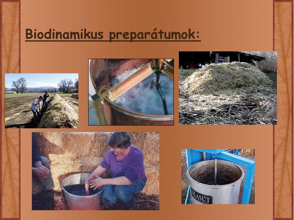 Biodinamikus preparátumok: