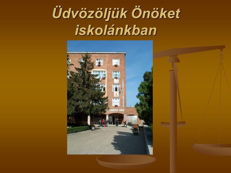 Üdvözöljük Önöket iskolánkban