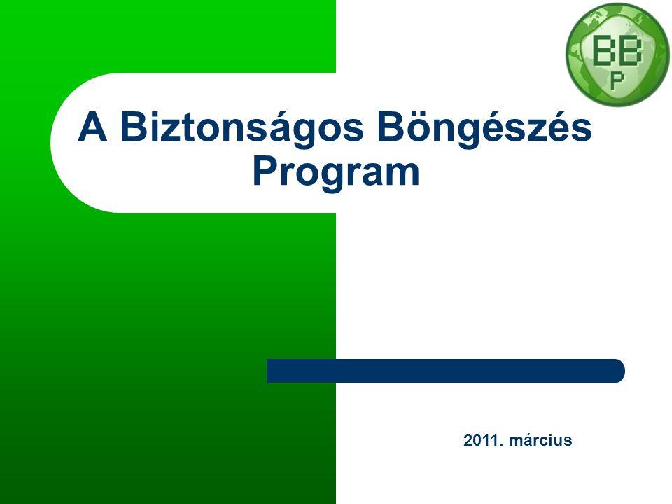 A Biztonságos Böngészés Program 2011. március