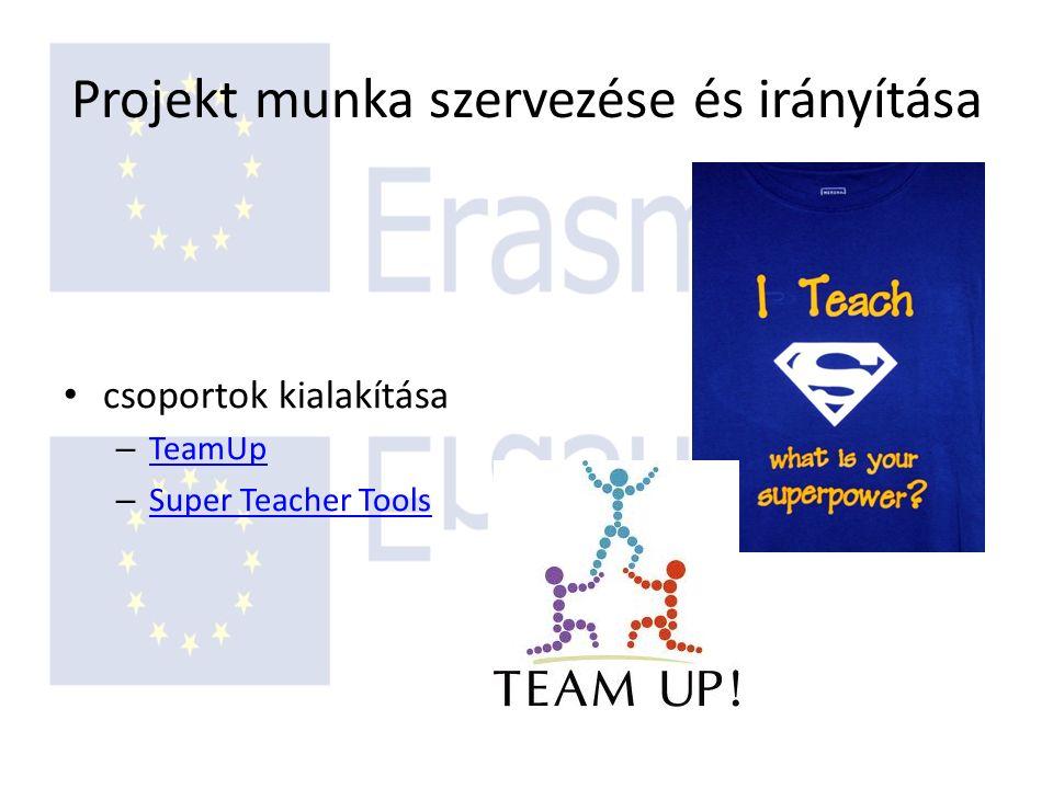 Projekt munka szervezése és irányítása csoportok kialakítása – TeamUp TeamUp – Super Teacher Tools Super Teacher Tools