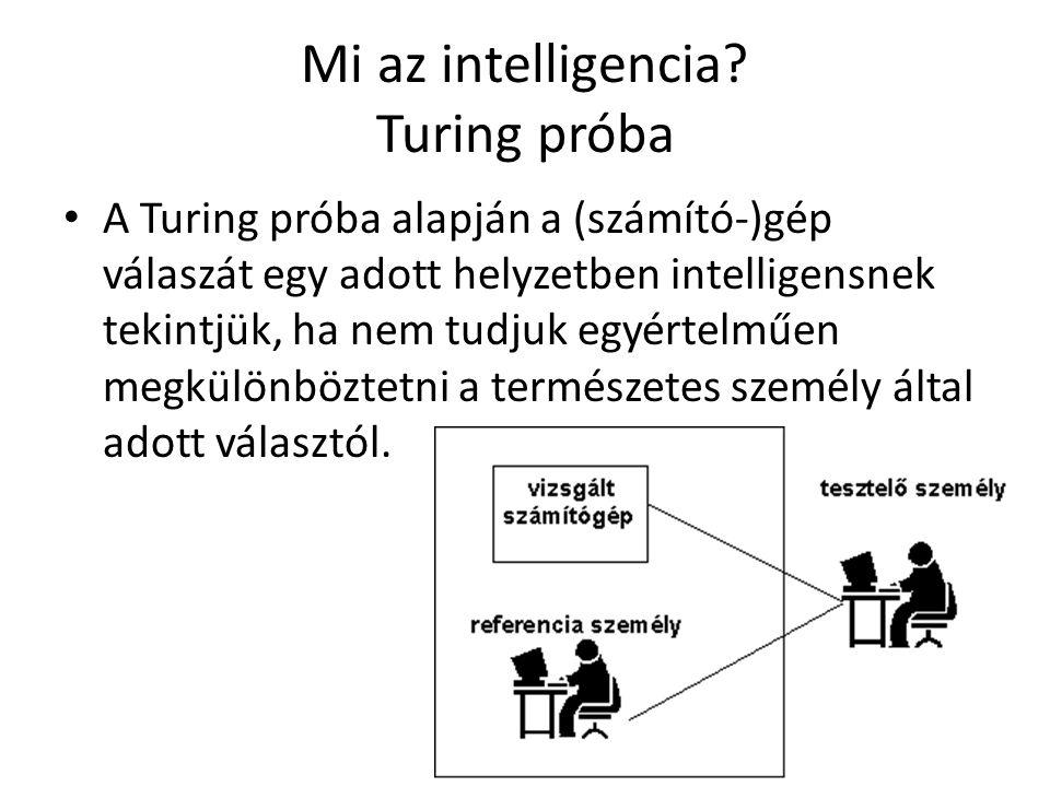 Mi az intelligencia.