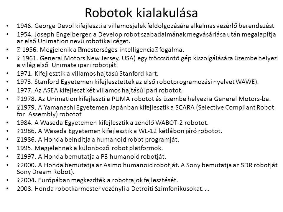 Robotok kialakulása 1946.