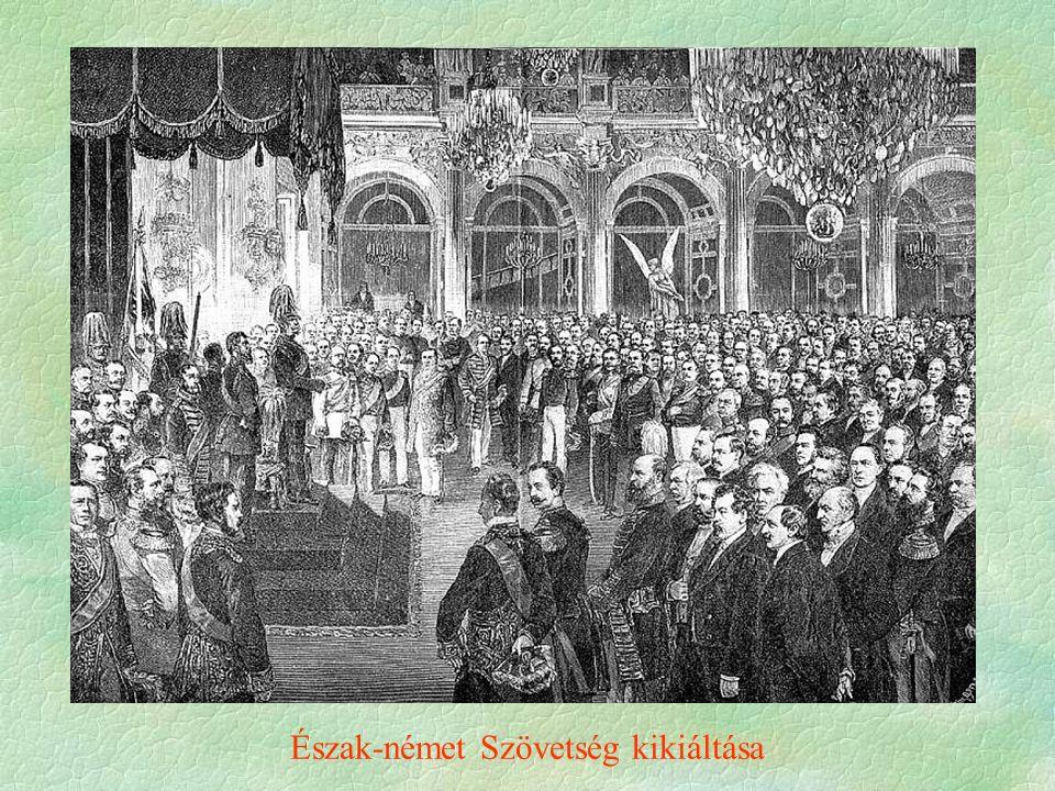 Észak-német Szövetség kikiáltása