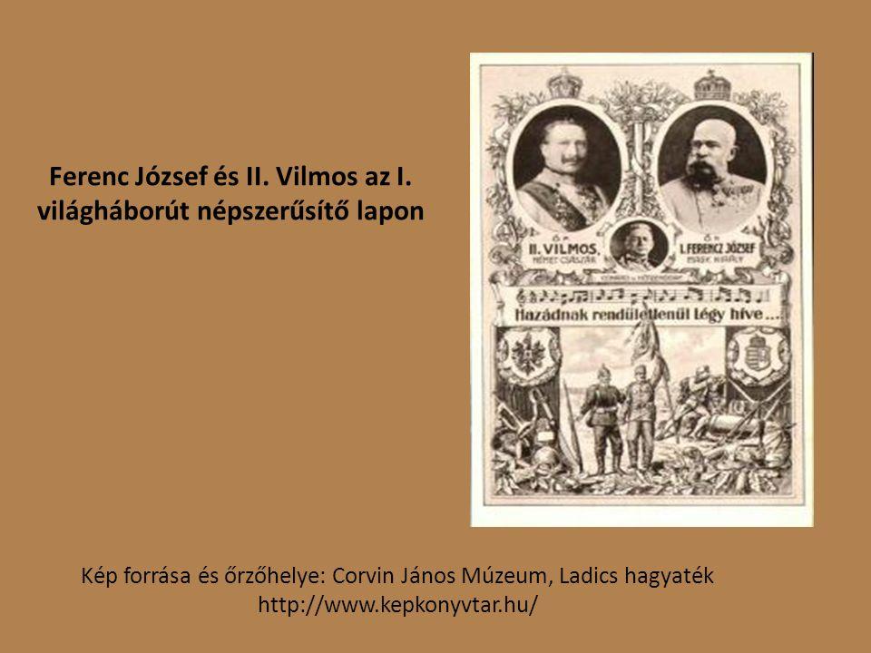Ferenc József és II. Vilmos az I.