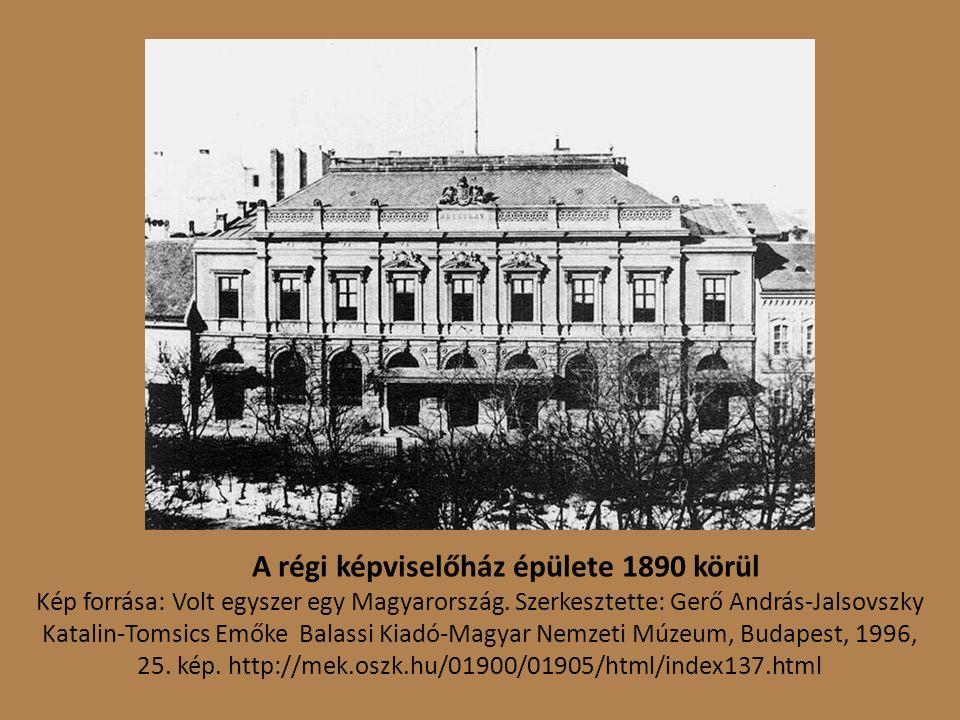Kép forrása: Országos Széchényi Könyvtár Kisnyomtatványtár, Klap.45e Bp/29 Budapest – Országház - Parlament