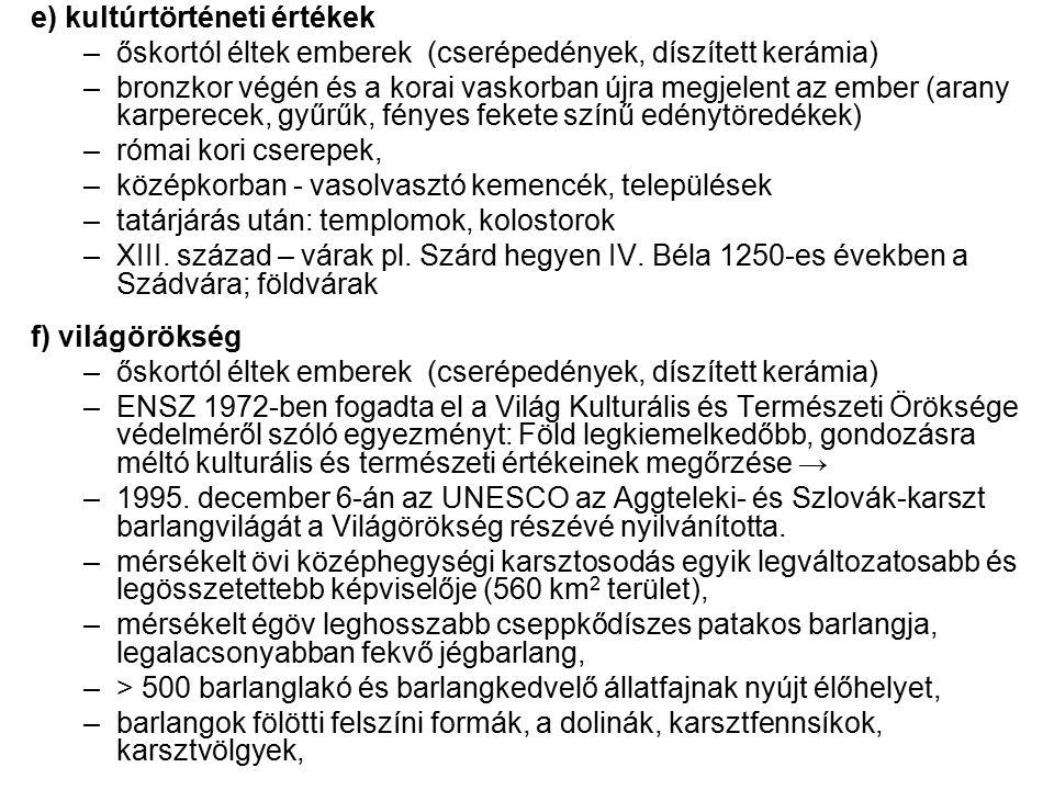 Az DDNP törzsterületei 1996.