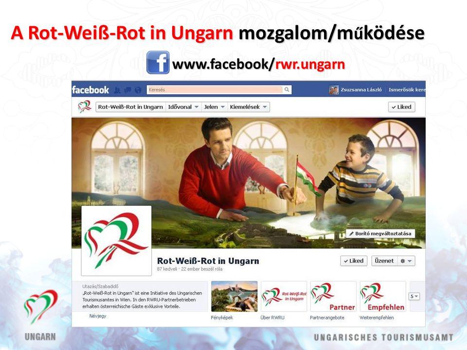 A Rot-Weiß-Rot in Ungarn mozgalom/m ű ködése www.facebook/rwr.ungarn