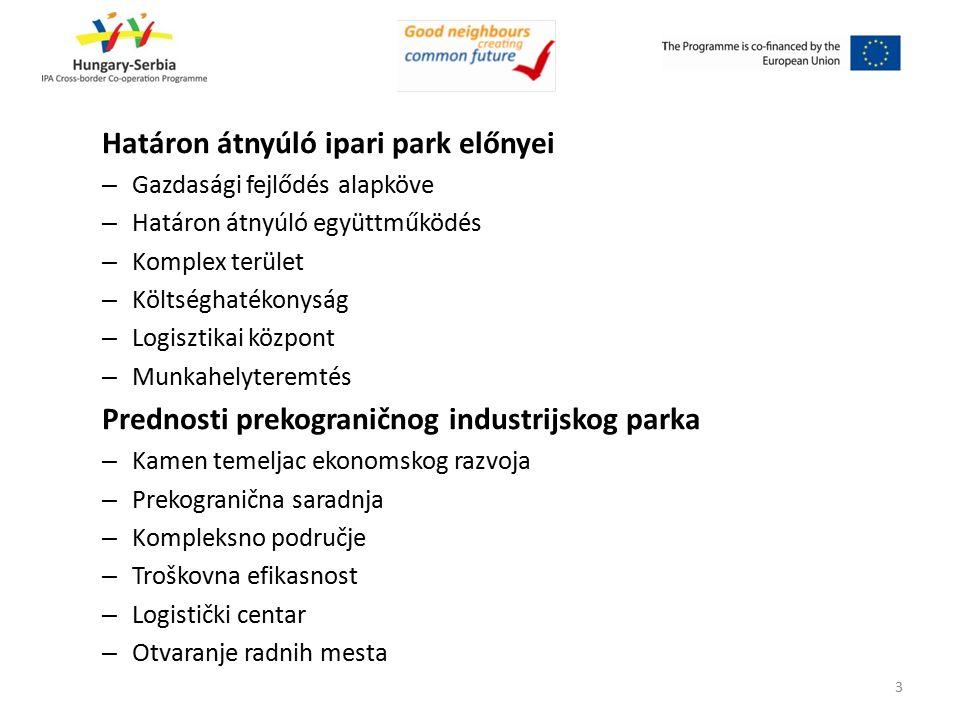 Határon átnyúló ipari park modellek Osztrák - Magyar modell (Szentgotthárd) – Kétpólusú Szerb - Bolgár modell (Pirot) – Egypólusú Modeli prekograničnih industrijskih parkova Austrijsko-Ma đ arski model (Sentgothard) – Sa dva pola Srpsko-Bugarski model Pirot – Jedan pol 4