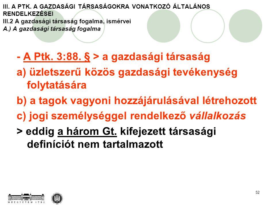 52 III. A PTK.