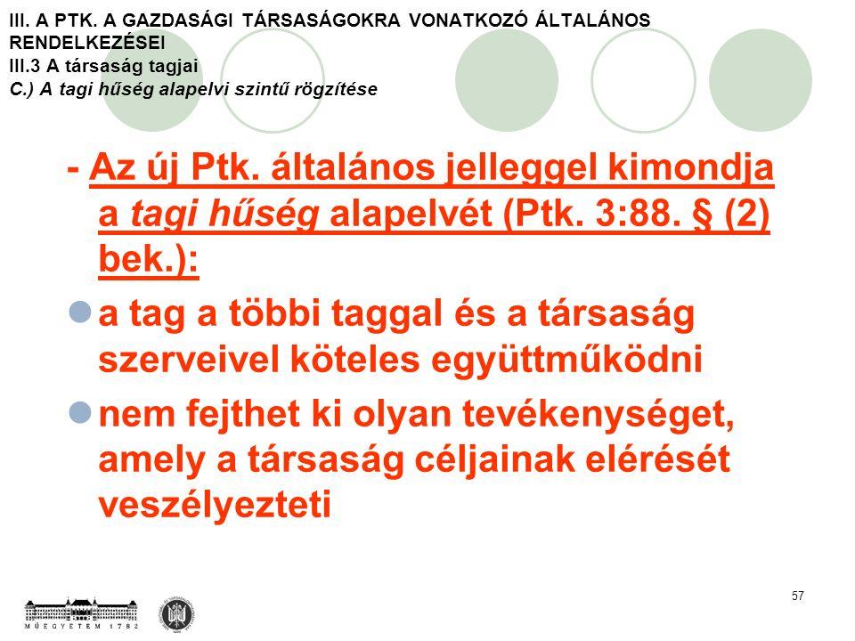 57 III. A PTK.