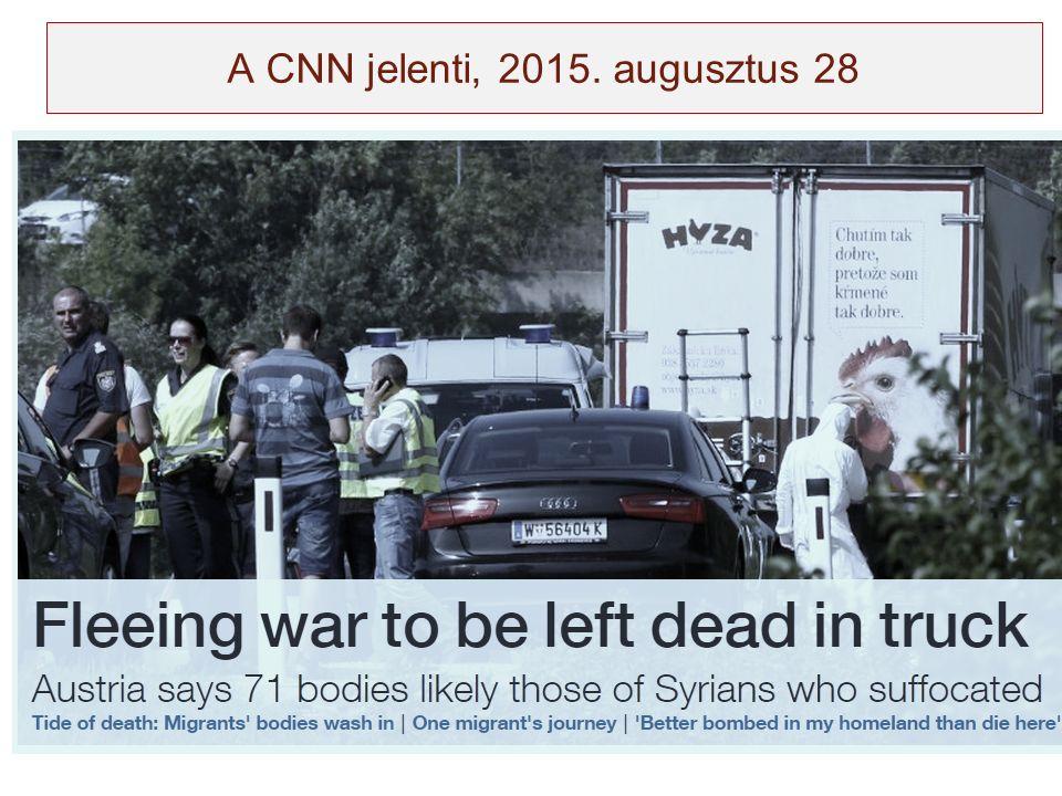 A CNN jelenti, 2015. augusztus 28
