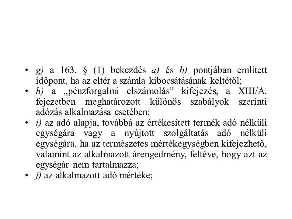 g) a 163.