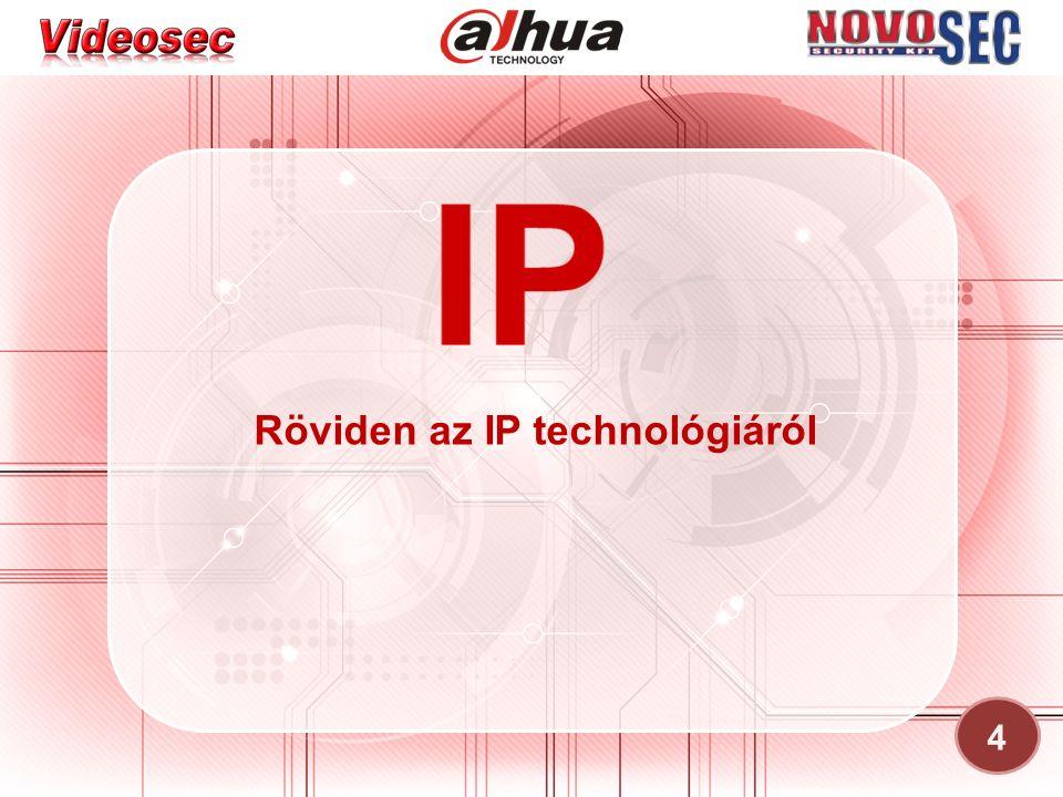 Röviden az IP technológiáról 4