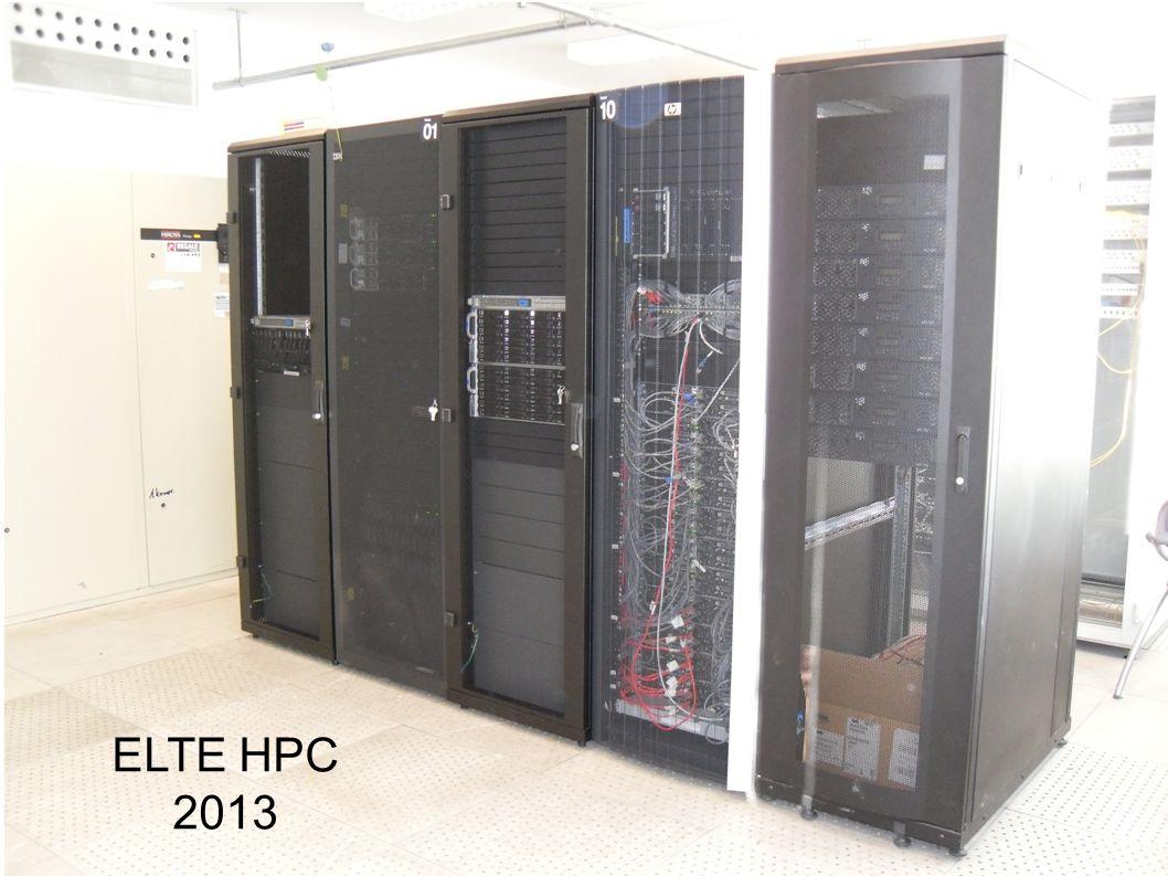 ELTE HPC 2013