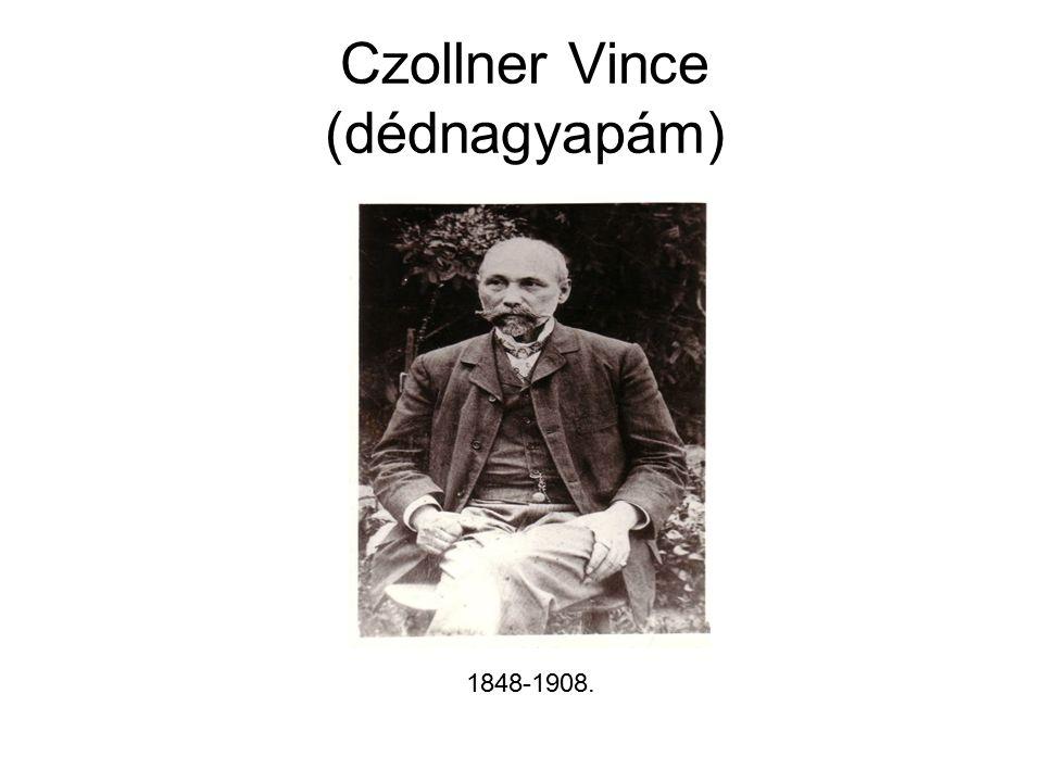 Czollner Vince (dédnagyapám) 1848-1908.