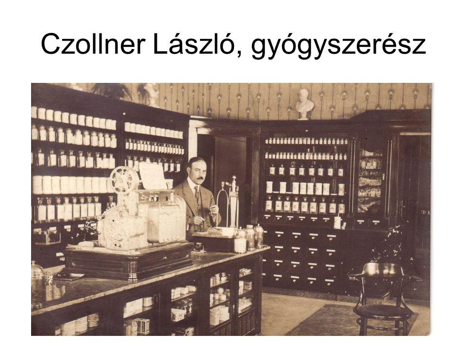 Czollner László, gyógyszerész