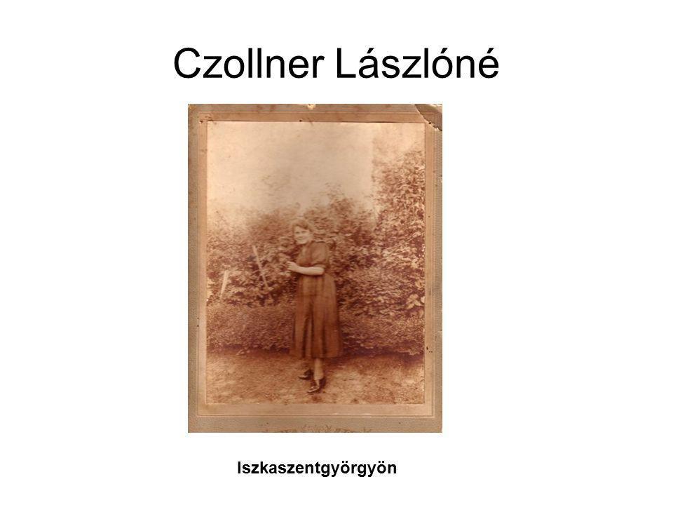 Czollner Lászlóné Iszkaszentgyörgyön