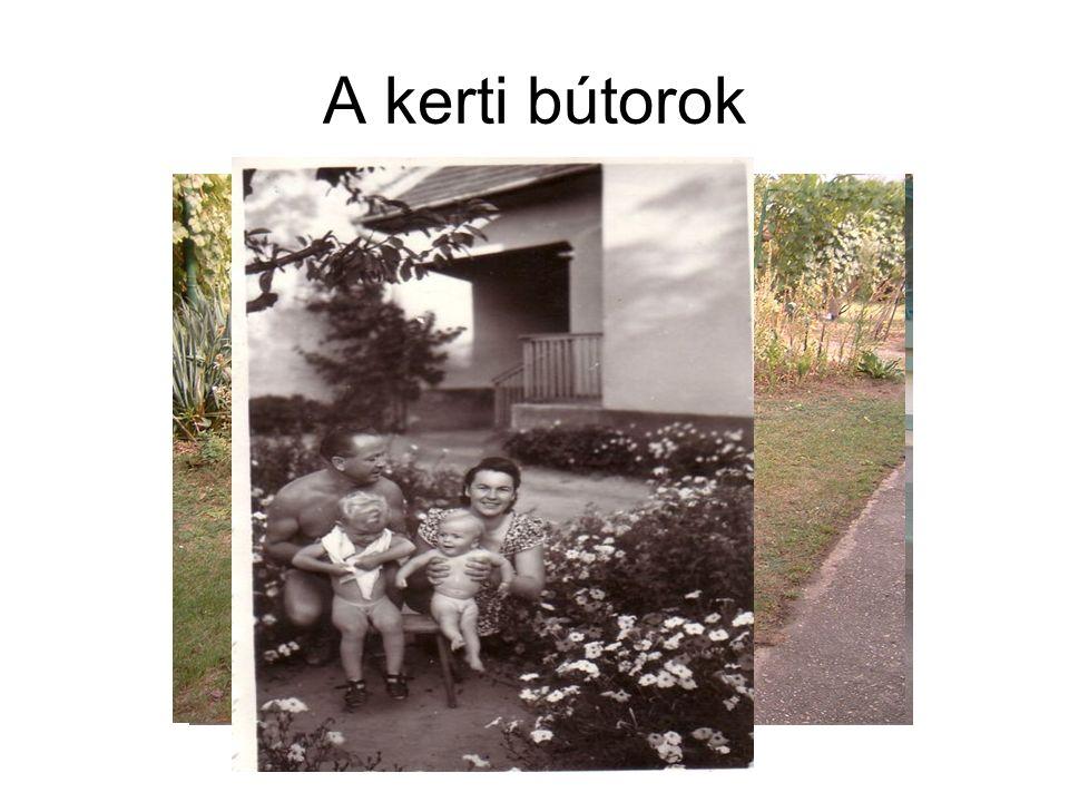 A kerti bútorok
