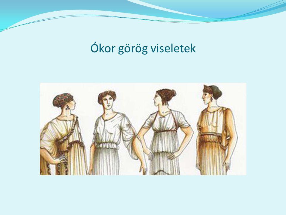 Ókor görög viseletek