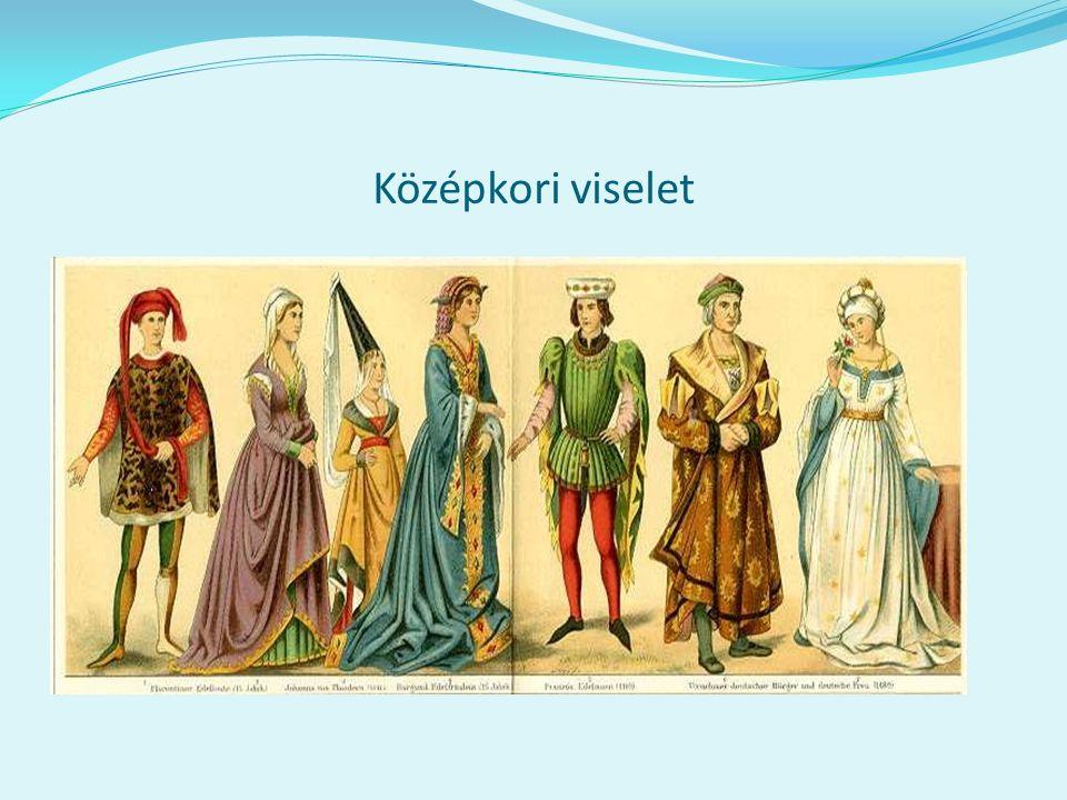 Középkori viselet