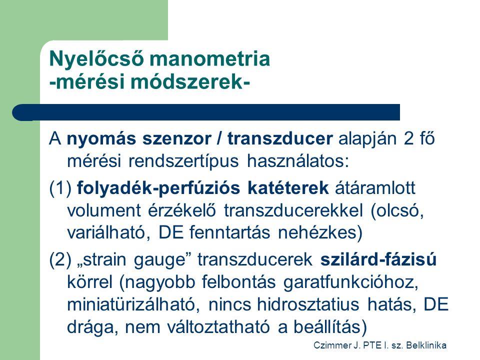 Czimmer J. PTE I. sz.