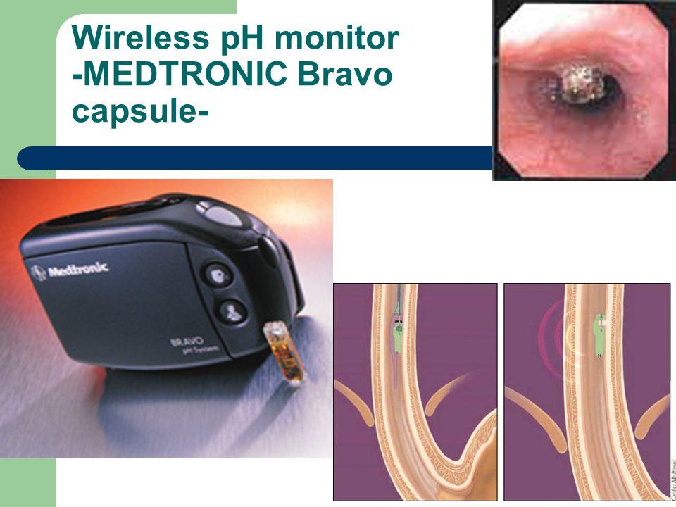 Czimmer J. PTE I. sz. Belklinika Wireless pH monitor -MEDTRONIC Bravo capsule-