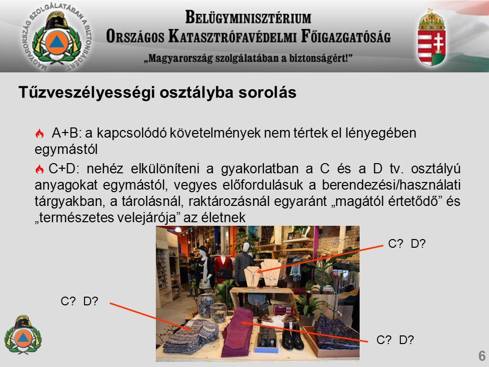 OTSZ: JogszabályTűzvédelmi Műszaki Irányelv (TvMI) 17 KÖVETELMÉNYMEGOLDÁS