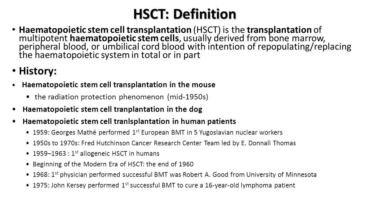 Stem Cell Differentiation