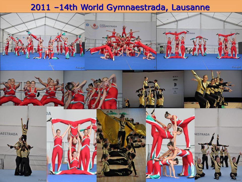 2011 –14th World Gymnaestrada, Lausanne