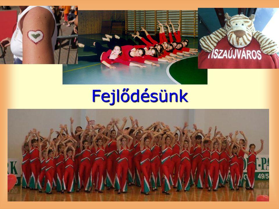 2010 – ZSÓRY EDZŐTÁBOR Aerobik, musical és show tánc csoport, 35 fok árnyékban, színes vetélkedő, tetőn éneklés, ezazénszékem és a VB himnusz 2010: 125 éves a MATSZ – TORNÁSZGÁLA fellépés, Első GIMI FITWEEK – Anyja lánya torna és bemutatóóra